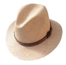 Panama Hat Travellar Straight Hutkrempe Gr.61 from Ecuador Fiber from Toquillas