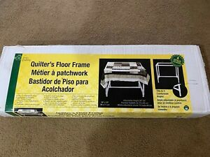 Dritz 3129 Quilter's Floor Frame. New in Box, never used.
