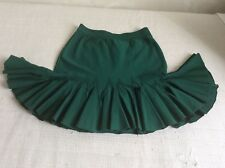 Women's green knitted Roberto Cavalli skirt size 42