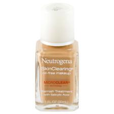 (1) Neutrogena Skin Clearing Oil Free Makeup 70 Fresh Beige EXP 05/18