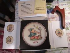 Goebel Hummel 1979 Annual Plate Hum272 Singing Lessons~Tmk6!~New In Box