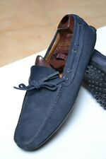Scarpe CAR SHOE N.41 UK7 Made in ITALY HANDMADE Fatte a mano Loafer Blue