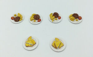 Dolls House Plates Of Food