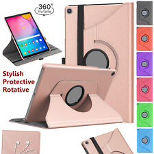 """For Samsung Tab A7 10.4"""" T500/T505 360 Rotate Leather Magnetic Case Cover (2020)"""