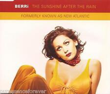 BERRi - The Sunshine After The Rain (UK 4 Tk CD Single)