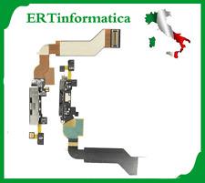 FLAT FLEX DOCK USB CONNETTORE BIANCO DATI RICARICA MICROFONO RICAMBIO IPHONE 4S