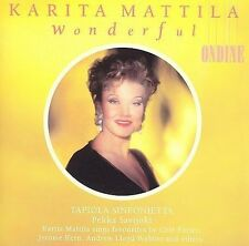 KARITA MATTILA (SOPRANO VOCALS) - WONDERFUL (NEW CD)