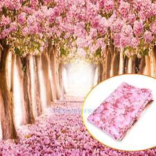 5x7FT Flower Sakura Road Baby Studio Prop Photography Photo Background Backdrop