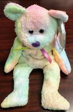 "TY Retired Beanie Baby ""GROOVY"" the Bear - w/Heart Tag Protector"
