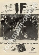 If Not Just Another Bunch Of Pretty Faces GULP 1004 MM4 LP Advert 1974