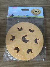 lakeland easter chickens Round pastry cutter brand New In Packet Hens Pie