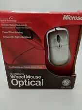 Microsoft Wheel Mouse Optical - PC Mac USB PS/2 X08-71117A -  New/Open Box