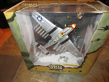 Airplane US P-510 Mustang 363 Fighter Squadr Normandy 1944 1/32 scale die cast