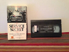 Les services secret volume 2 VHS tape & sleeve FRENCH documentary
