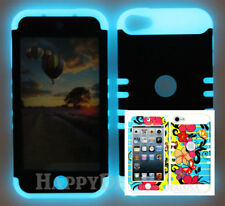 For Apple iPod Touch iTouch 5 | 6 KoolKase Hybrid Cover Case Flower Butterfly 33