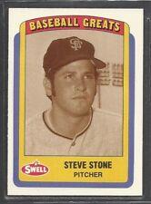 1990 Swell Baseball Greats - #27 - Steve Stone - San Francisco Giants