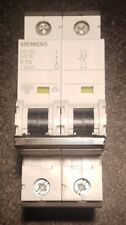 SIEMENS Sicherungsautomat 6kA 2-polig 5SY6210-7  C10A NEU ICU = 15kA MCB 400V