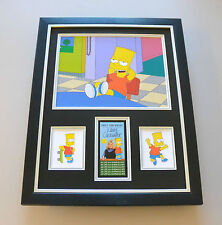 Nancy Cartwright Signed Framed 16x12 Bart Simpson Voice Photo Autograph Display