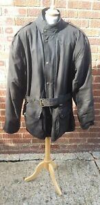 Vintage Frank Thomas Waxed Cotton Motorcycle Jacket