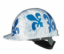 Dynamic Safety Hard Hat Helmet Quebec Fleur de Lys Casque de Construction