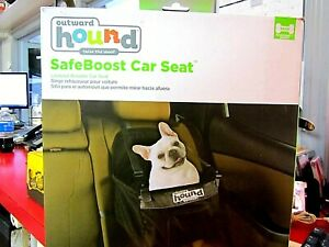 Outward Hound Raise the Woof BLK Safe Boost Car Seat Pre-Owned - w/ original Box