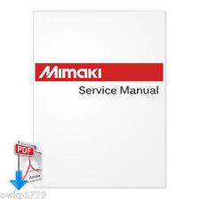 MIMAKI JV33-130 JV33-160 Plotter English Maintenance Manual -PDF