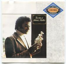 [BEE GEES COVER] JOHNNY MATHIS ~ THE HITS OF... ~ 1991 UK 16-TRACK CD ALBUM