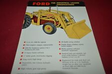 Ford Tractor 720 Industrial Loader Dealer's Brochure AMIL15 ver2