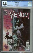 Venom #150 Cgc 9.8 1:25 Variant James Stokoe Cover Eddie Brock