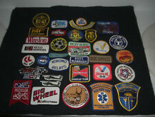 Company Advertising Vintage 1970-80's Patches Wholesale Lot of 32  Lot #1