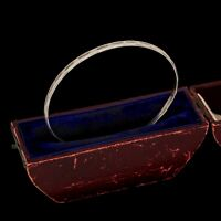 Antique Vintage Deco Mid Century Sterling Silver Mexican TAXCO Bangle Bracelet