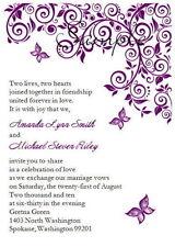 Einladungen für Hochzeiten