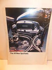 AMF-HARLEY DAVIDSON 1978 SPORTSTER MOTORCYCLE SALES BROCHURE
