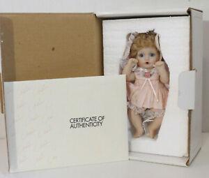 "NEW Marie Osmond ""Lil Puddin'"" Petite Amour Toddler girl Doll NIB COA #1387/2500"