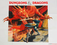 D&D Dungeons & Dragons exclusive POSTER Loot Gaming Crate MEDIEVAL NEW