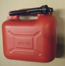 10l Canister Reserve Petrol Diesel Plastic Jerry Can Fuel Canister