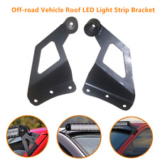 Off-road Roof LED Light Strip Bracket Car Upper Windshield Bar Mounting Brackets