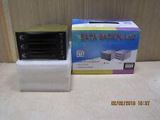 SATA backplane 3 bay black external caddy aluminium rack HDD SSD
