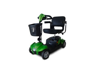 New Ev Rider CityCruzer 4 Wheels Transportable Mobility Scooter, Green