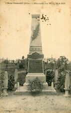L'HOME CHAMONDOT Monument aux Morts Guerre 1914 1918