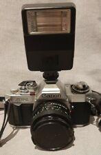Canon AV-1 appareil Photo Argentique + 3 Objectifs + Flash , 1980