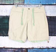 Horny Toad & Co Size 6 Khaki String Belt Bermuda Walking Hiking Climbing Shorts