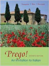 Prego! : An Invitation to Italian by Maria Cristina Peccianti, Andrea Dini...
