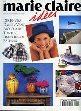 Revue comme NEUVE  Marie Claire Idées  n°21  JUIN  1996
