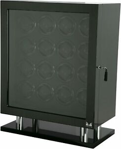 Volta 31-560160 Sixteen (16) Carbon Fiber Watch Winder, Display model