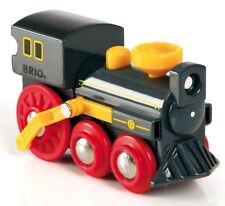 Brio vecchia locomotiva a vapore Bambino Baby Bambino Vivaio Giocattolo Ferrovia Treno Gioco Nuovo con confezione