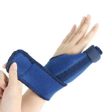 Adjustable Unisex Men's Thumb Wrist Brace Sprain Hand Support Guard Pain Relief