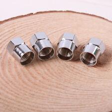 4 Stück Qualität Chrome Ventilstaubkappen Auto / Fahrrad-Schlauch Reifen