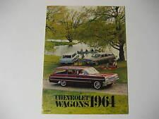 1964 Chevrolet Station Wagon Dealer Brochure