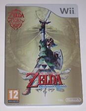 The Legend of Zelda Skyward Sword Limited Steelbook G1 Rare Official Collectors